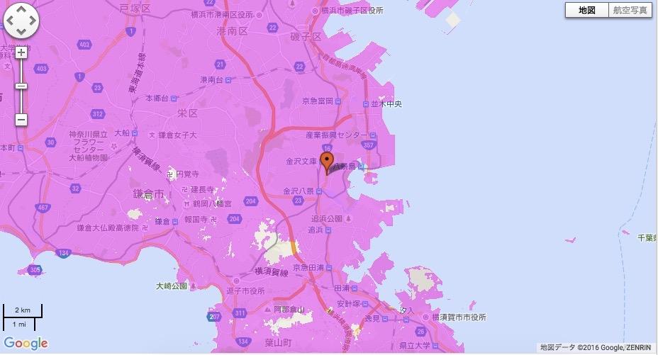横浜市金沢区