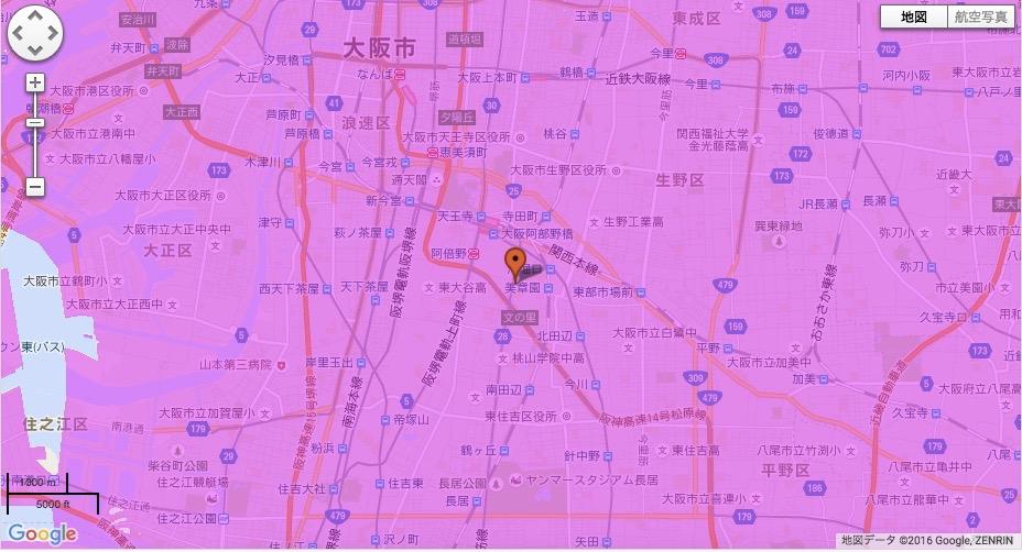 大阪市阿倍野区