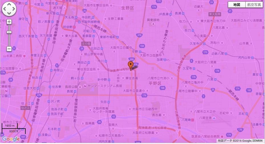 大阪市平野区
