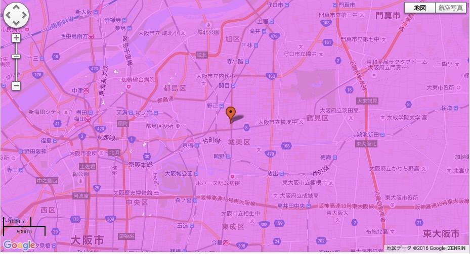 大阪市城東区