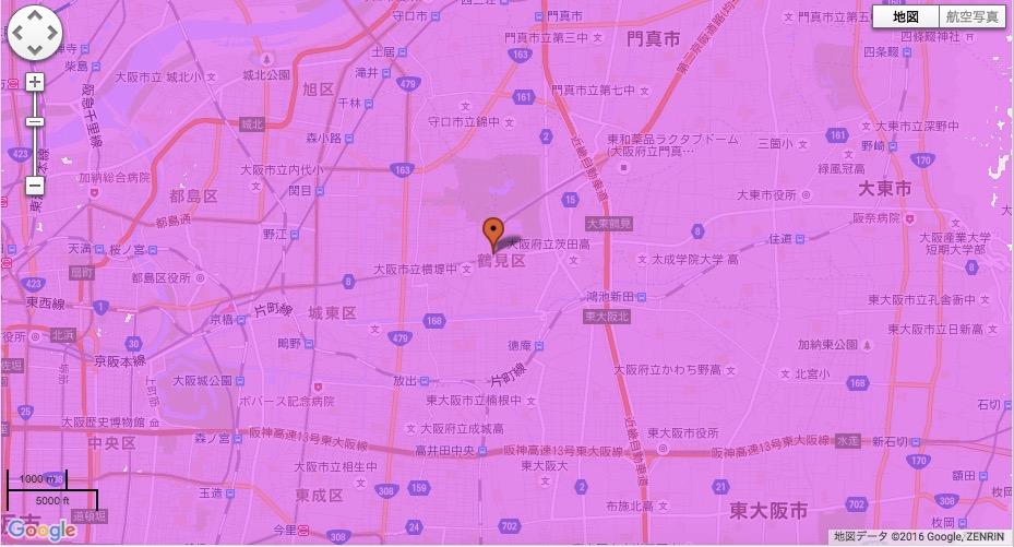 大阪市鶴見区