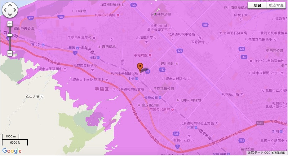 札幌市手稲区