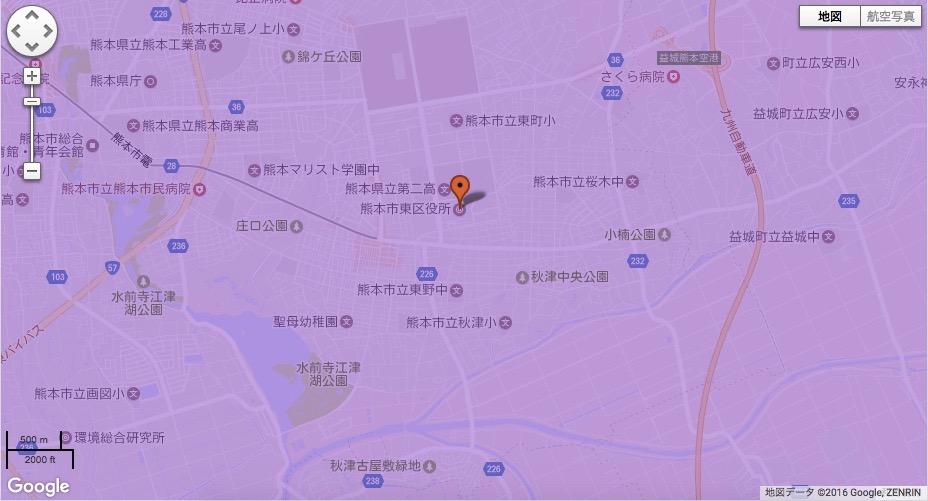 熊本市東区